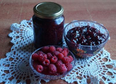 Варенье из малины пятиминутка