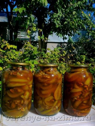 Варенье из зеленых груш