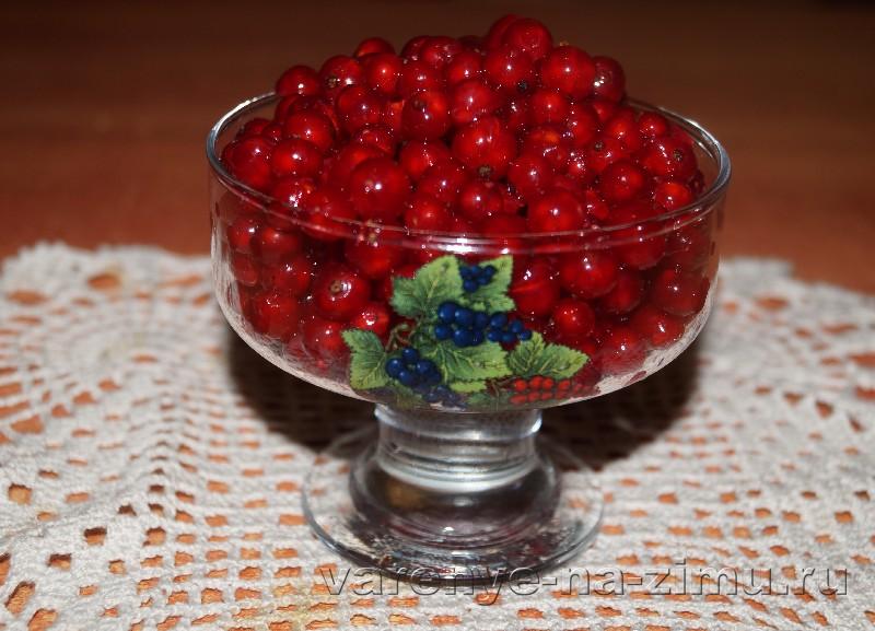Быстрое желе из красной смородины: фото 3