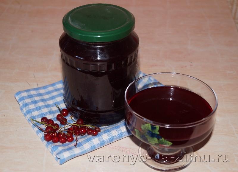 Быстрое желе из красной смородины: фото 8