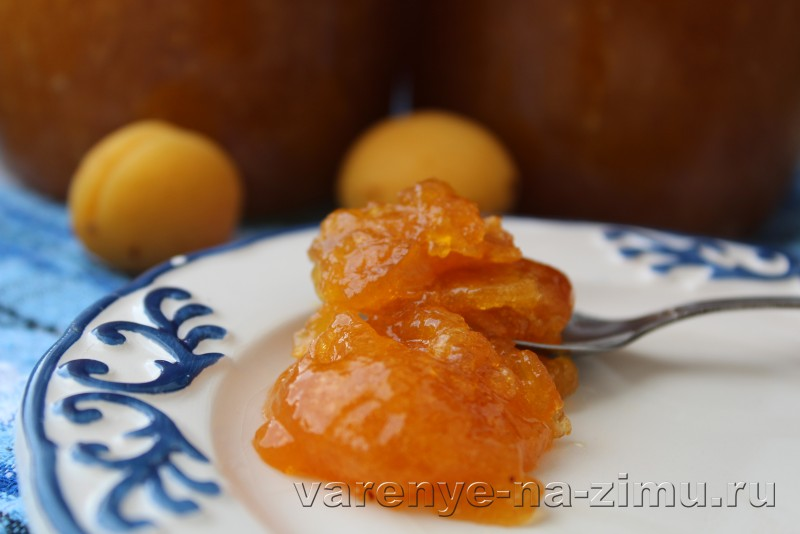 Джем из абрикосов простой рецепт на зиму с ванилью: фото 12