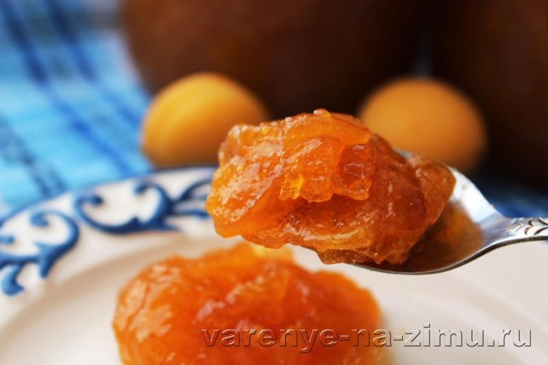 Джем из абрикосов простой рецепт на зиму с ванилью