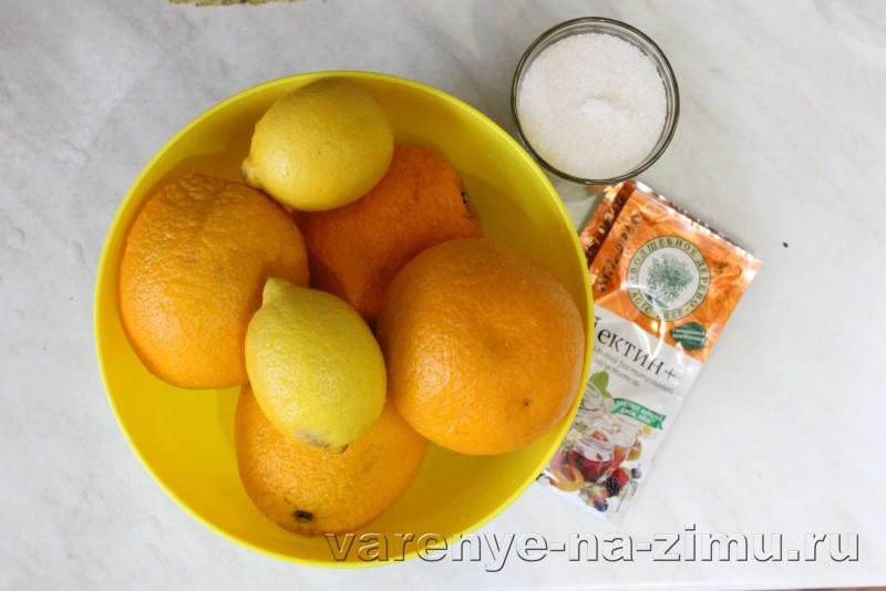 Джем из апельсинов и лимонов: фото 1