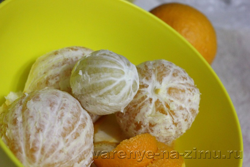 Джем из апельсинов рецепт пошагово