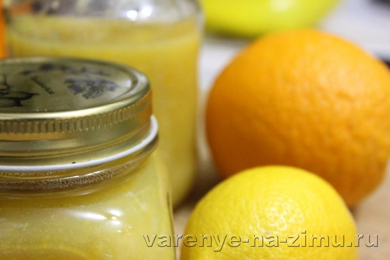 Джем из апельсинов и лимонов: фото 8