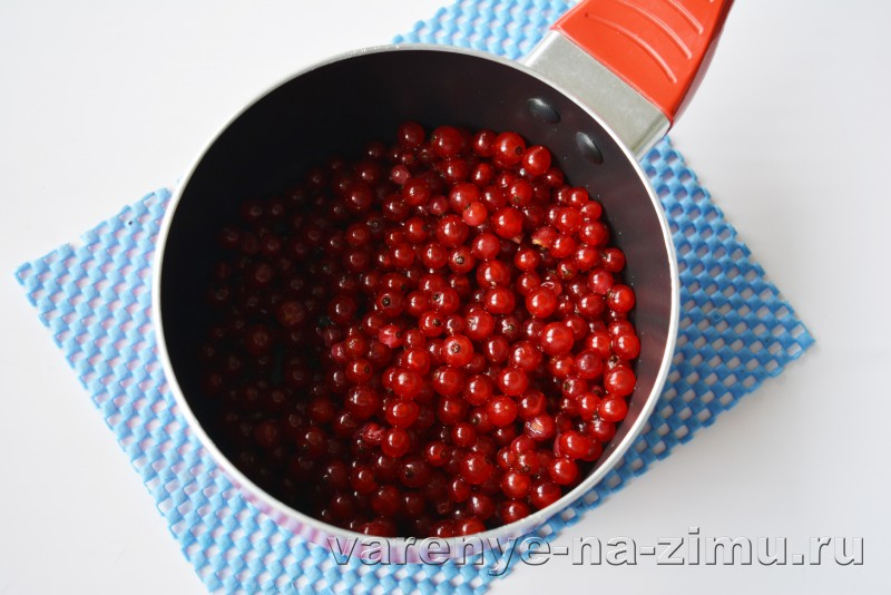 Джем из красной смородины рецепт на зиму: фото 4