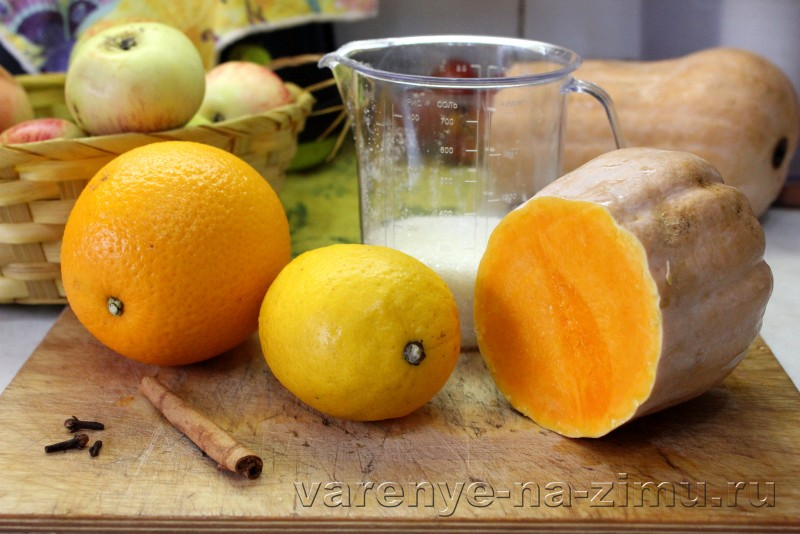 Джем из тыквы с апельсином и лимоном на зиму: фото 2