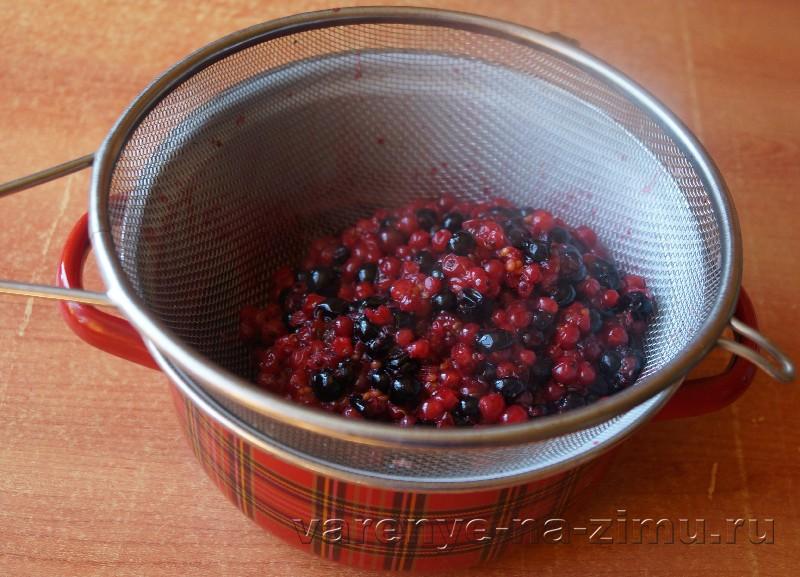 Желе из красной и черной смородины: фото 4