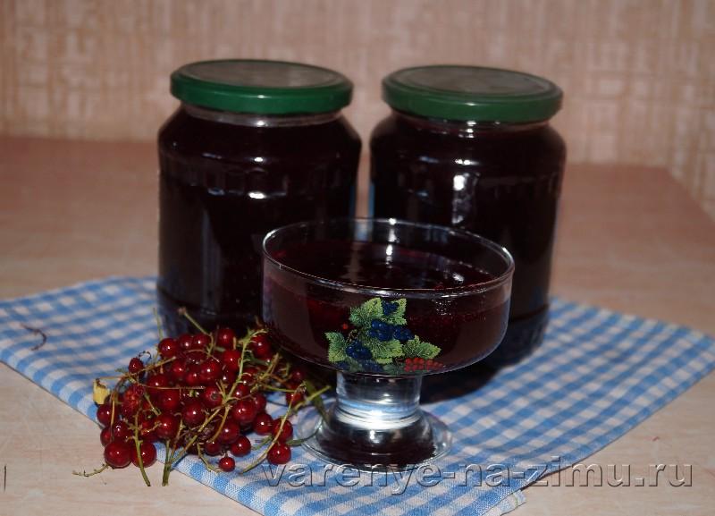 Желе из сока красной смородины: фото 4