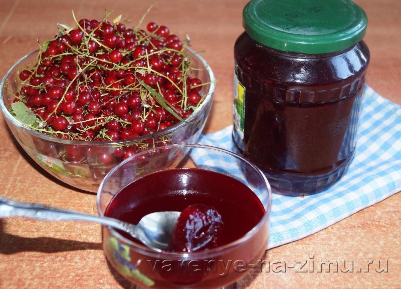 Желе из сока красной смородины: фото 5