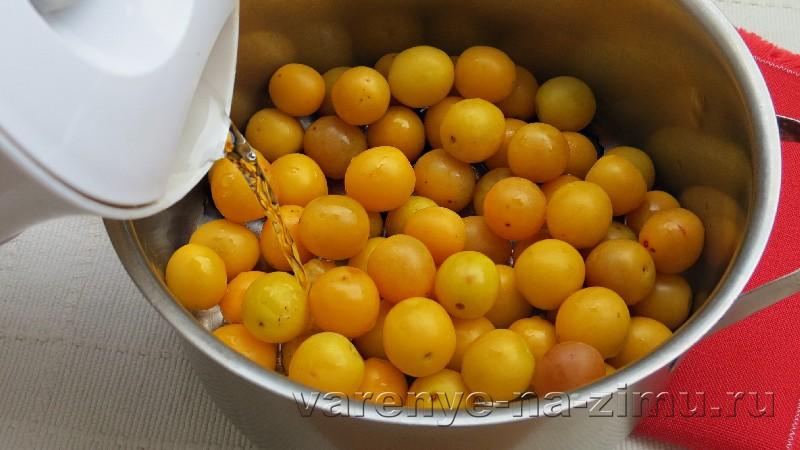 Джем из алычи с лимонным соком и бадьяном: фото 2