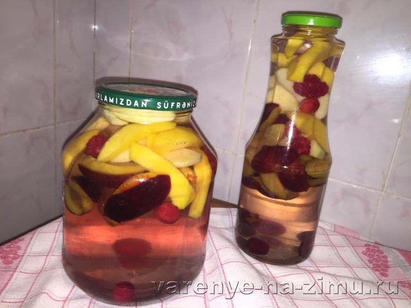 Компот ассорти из фруктов и ягод на зиму: фото 5