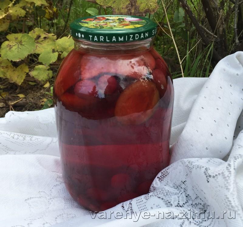 Компот ассорти из фруктов и ягод на зиму: фото 7