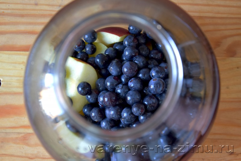 Компот из винограда и яблок на зиму без стерелизации: фото 6