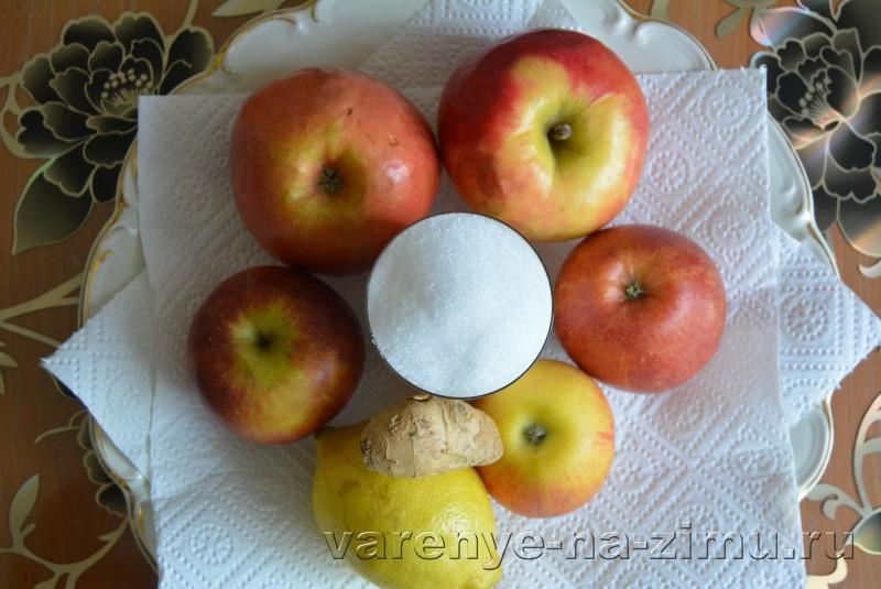Конфитюр из яблок на зиму: фото 1