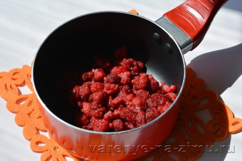 Малиновый джем рецепт на зиму без косточек: фото 4