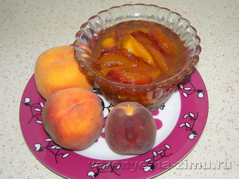 Прозрачное персиковое варенье