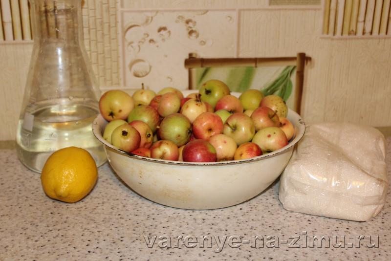 Варене из целых яблок на зиму простой рецепт: фото 1