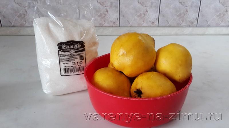 Варенье из айвы самый вкусный рецепт: фото 1