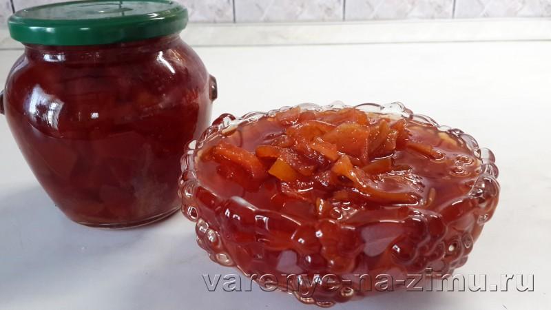 Варенье из айвы самый вкусный рецепт: фото 5