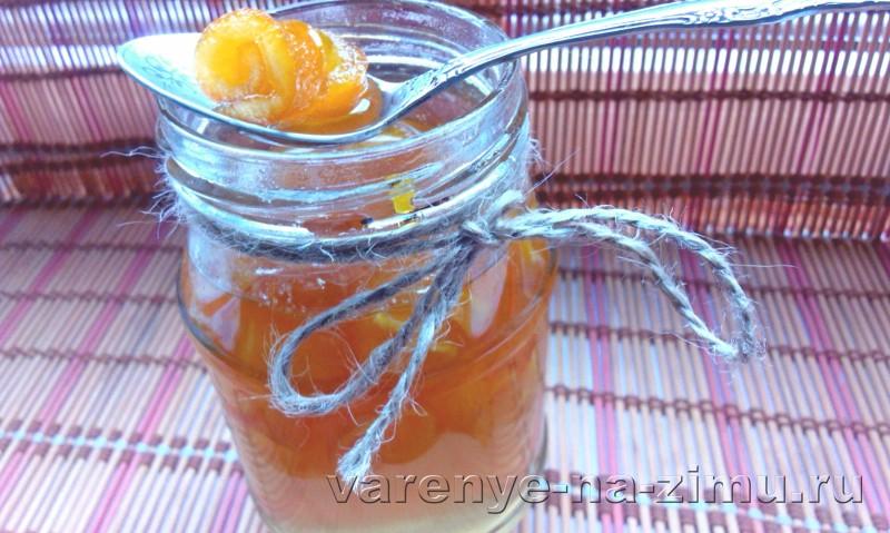 Варенье из апельсиновых корочек завитушки: фото 14