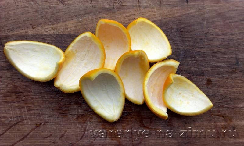 Варенье из апельсиновых корочек завитушки: фото 4