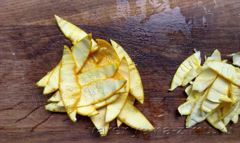 Варенье из апельсиновых корочек завитушки: фото 6