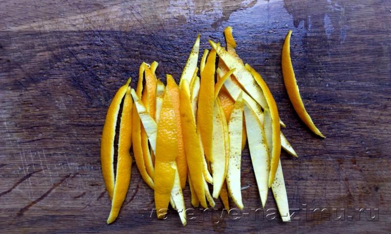 Варенье из апельсиновых корочек завитушки: фото 7