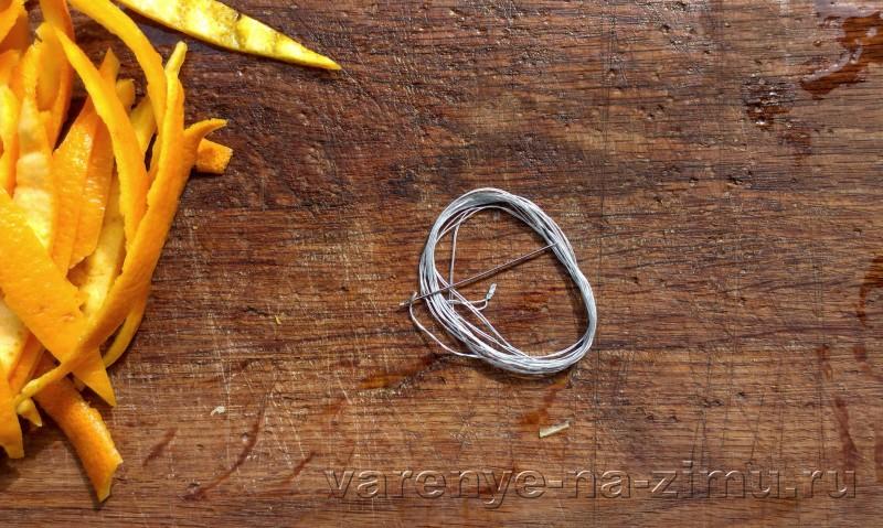 Варенье из апельсиновых корочек завитушки: фото 9
