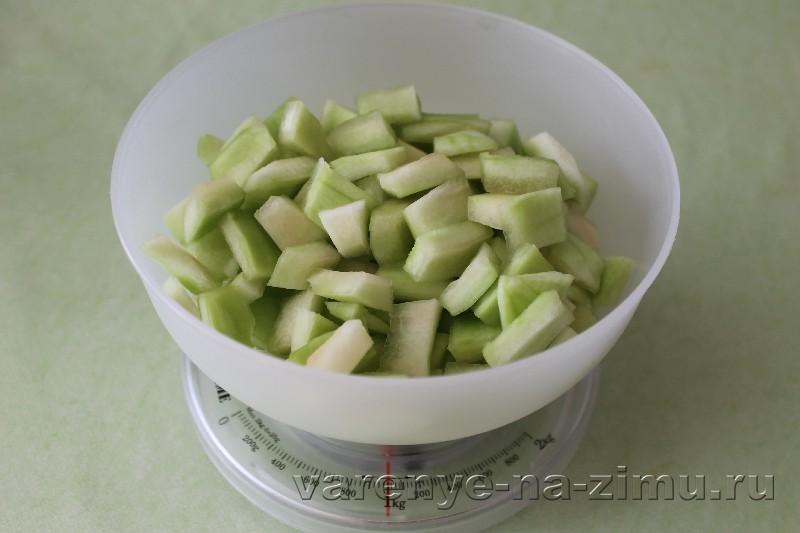 Варенье из арбузныh корочек: фото 2