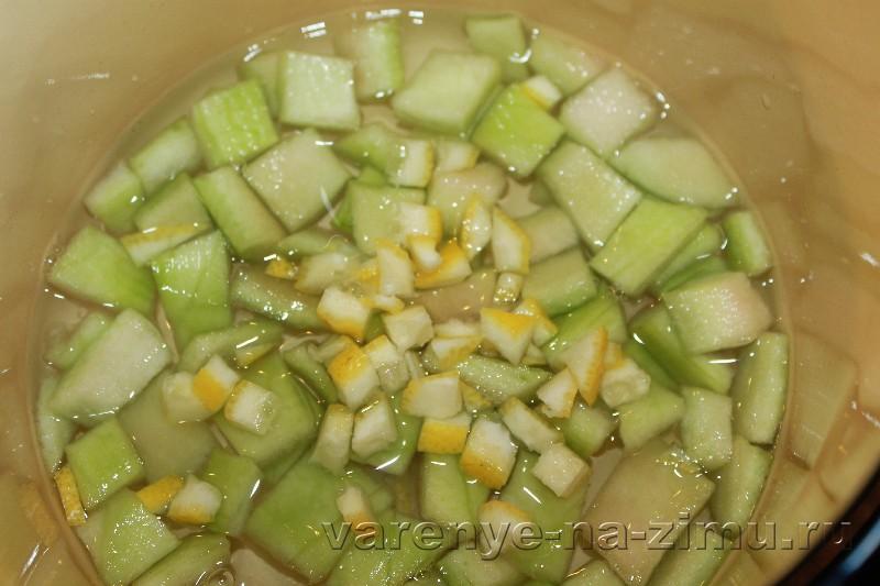 Варенье из арбузныh корочек: фото 6