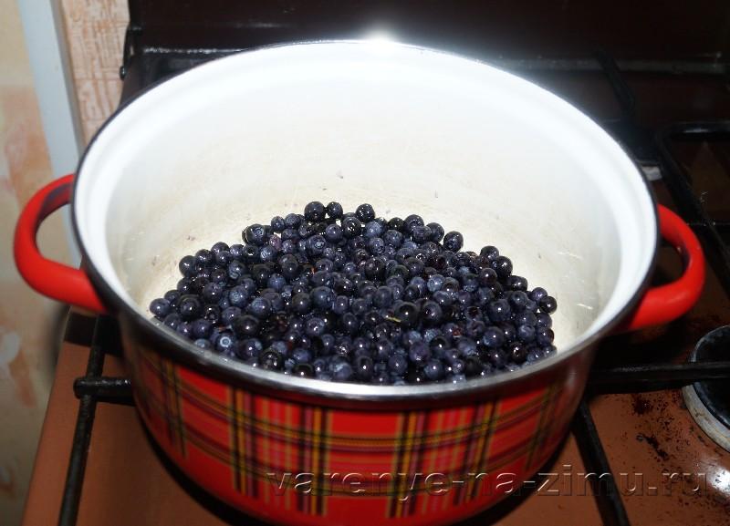 Варенье из черники с яблоками рецепт