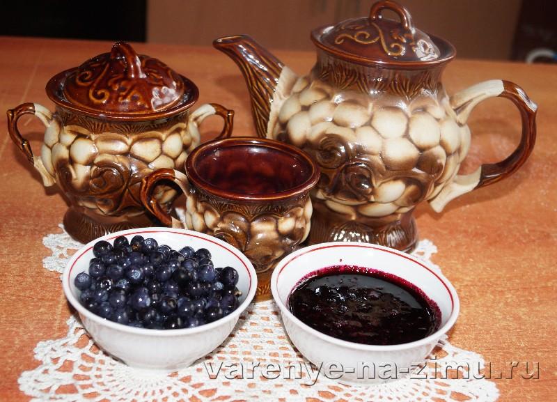 Рецепт варенья пятиминутка из черники: фото 11