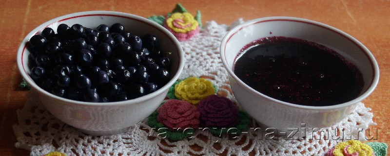 Рецепт варенья пятиминутка из черники: фото 13