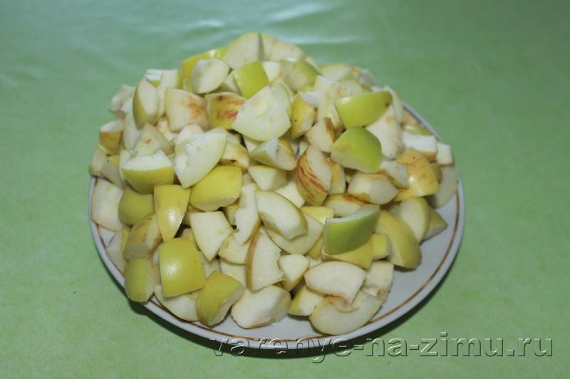 Варенье из черноплодной рябины с яблоками: фото 2