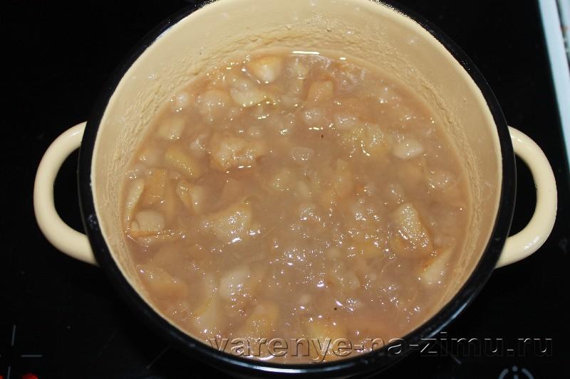 Варенье из черноплодной рябины с яблоками: фото 6