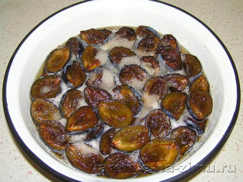 Варенье из чернослива без косточек с корицей: фото 4