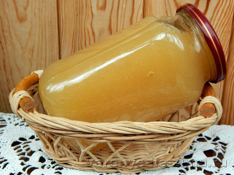 Варенье из дыны и яблок в мультиварке