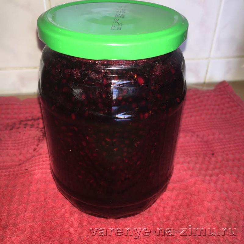 Варенье из ежевики с целыми ягодами густое: фото 8