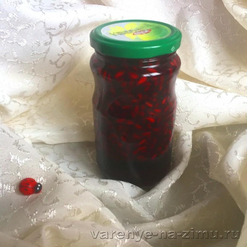 Варенье из граната на зиму: фото 1