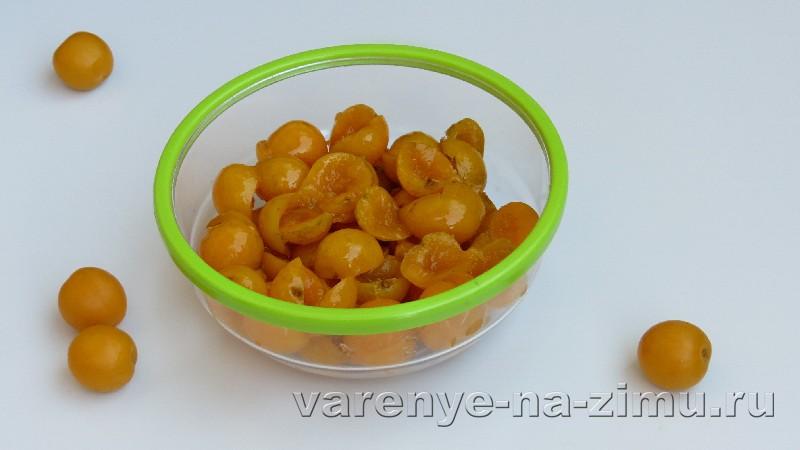 Варенье из груш и яблок с алычей: фото 2