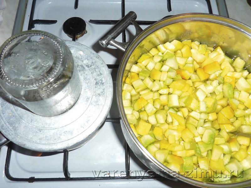 Варенье из кабачков с лимоном: фото 5