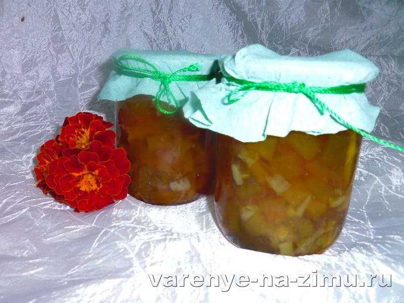 Варенье из кабачков с лимоном: фото 8