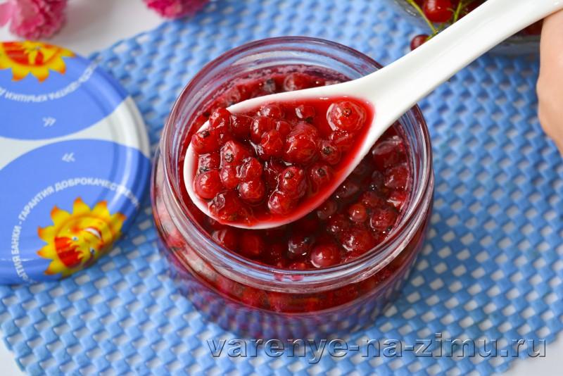 Варенье из красной смородины на зиму: фото 5 минутка: фото 9