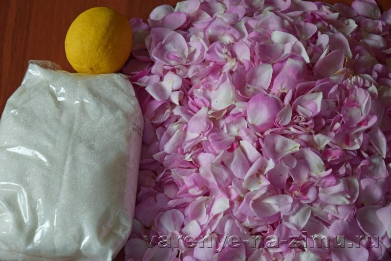 Варенье из лепестков роз: фото 1