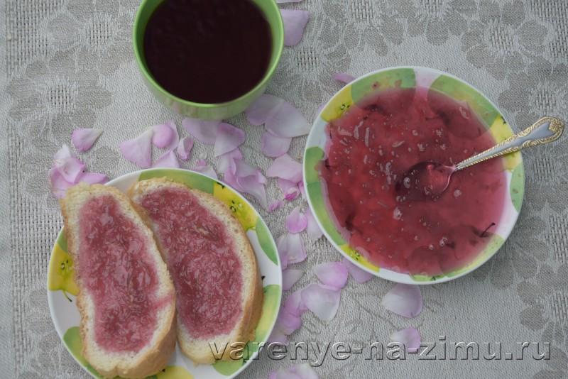 Варенье из лепестков роз: фото 10