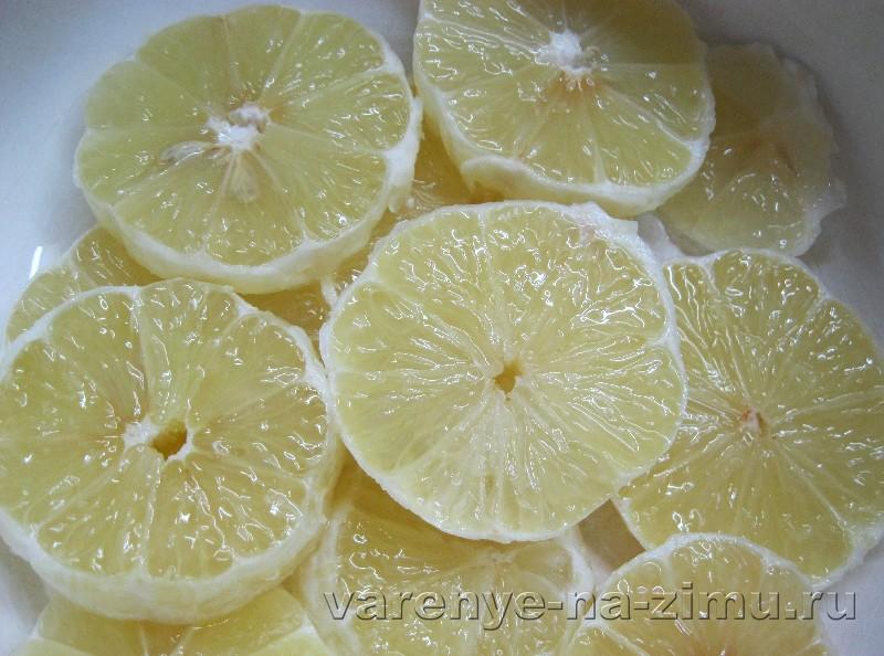 Джем из лимонов рецепт с пошагово