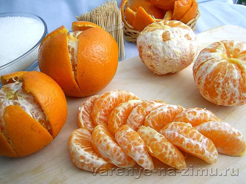 Варенье из мандаринов дольками: фото 2