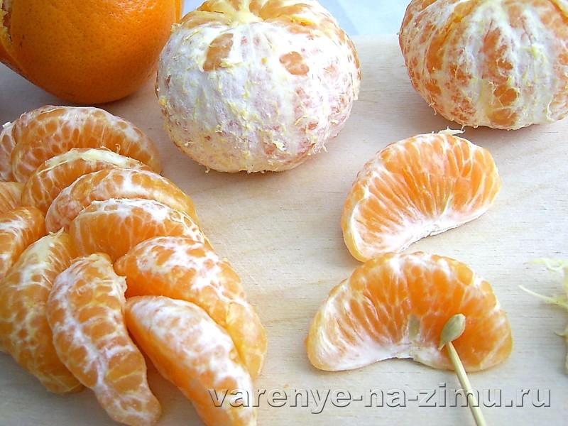 Варенье из мандаринов дольками: фото 3