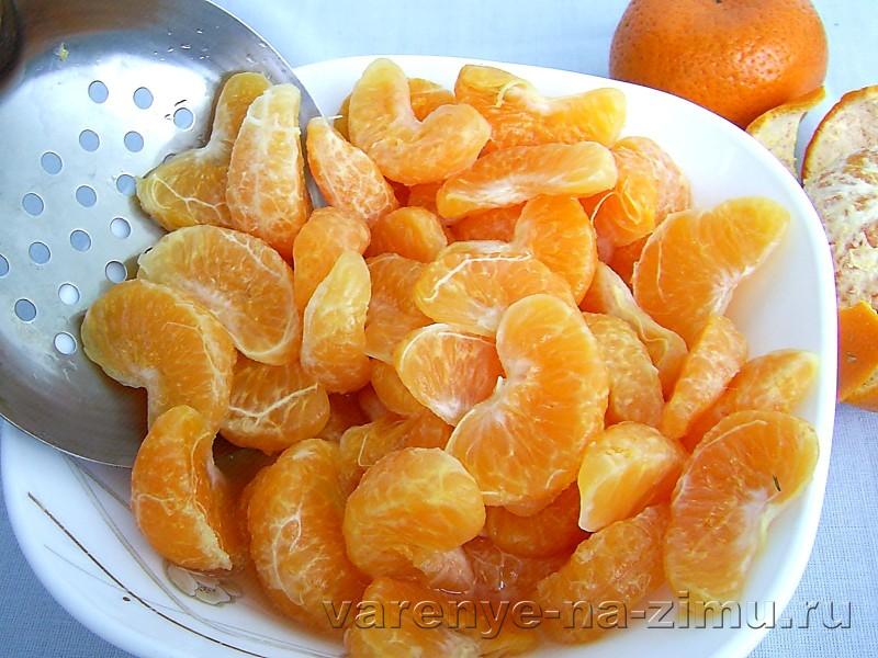 Варенье из мандаринов дольками: фото 5